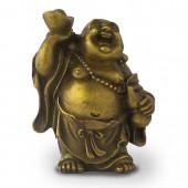 Bouddha Rieur debout symbolisant la Richesse.
