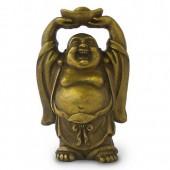 Bouddha Rieur debout symbolisant la Fortune.
