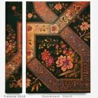Agenda 2018 - Filigrane Floral Ebène 10x14 - un Jour par Page