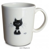 Mug La mouche - Collection Chats Dubout