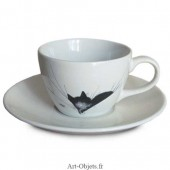 Tasse Cappuccino Gros Dodo - Collection Chats Dubout