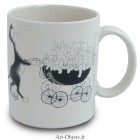 Mug Famille nombreuse - Collection Chats Dubout
