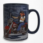 Mug Le Biker - Collection Design Forchino