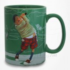 Mug Le Golfeur - Collection Design Forchino