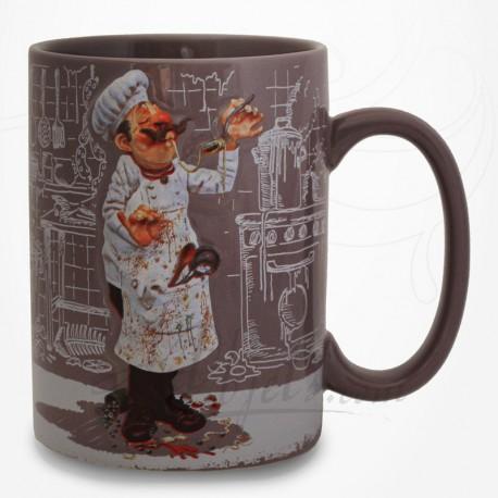 Mug Le Cuisinier - Collection Design Forchino