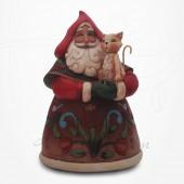Noël - Père Noël au Chat