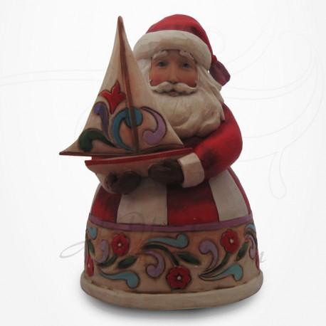 Noël - Père Noël au Bateau