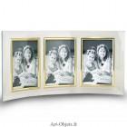 Cadre Photo Verre Triple 10x15 Vertical