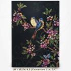 Carnet - BUG ART - Oiseaux 10,5x14,8