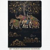 Cahier - BUG ART -  Eléphants 14,8x21,5