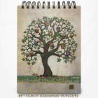 Carnet à dessin - BUG ART - Arbres aux chouettes 14,8x21,5