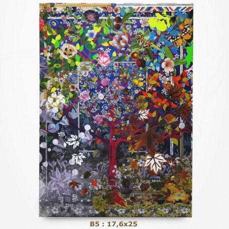 Carnet Christian Lacroix - 4 Saisons - B5