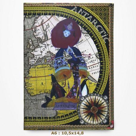 Carnet Christian Lacroix - Continents - Set de 6 Carnets A6