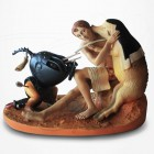 Le Cochon (Oiseau Monstre Casqué) de Jérôme Bosch