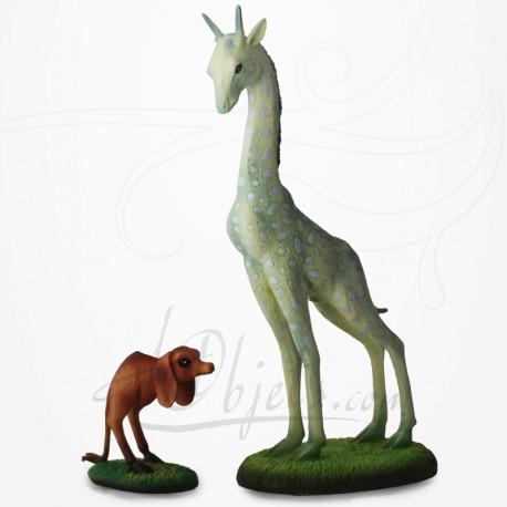 Girafe et chien à deux pattes de Jérôme Bosch