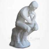 Rodin - Le Penseur en Albâtre