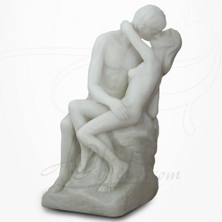 Rodin - Le Baiser en Albâtre