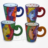 4 Mugs assortis - Collection Muzeum