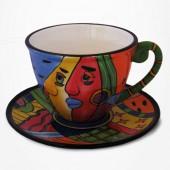 Tasse à Thé et soucoupe - Collection Muzeum