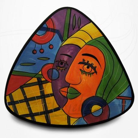 Plat Triangulaire - Collection Muzeum