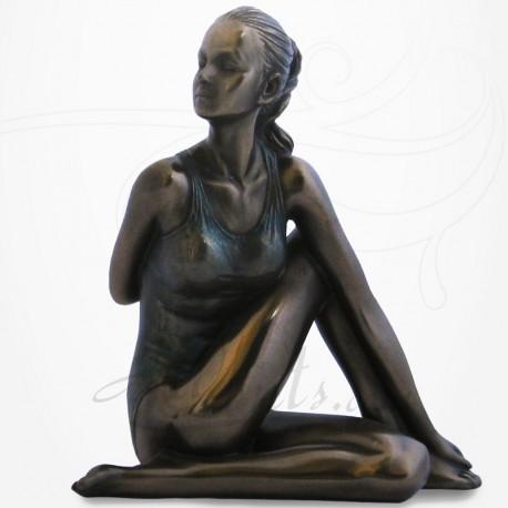 Body Talk - Posture Yoga  ARDHA MATSYENDRASANA