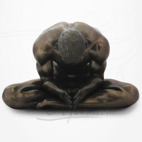 Body Talk - Homme nu en Méditation - Yoga