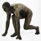 Body Talk - Homme nu - Départ de Course