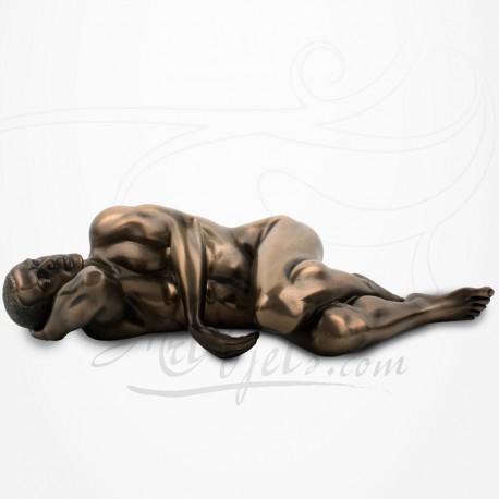 Body Talk - Homme nu allongé sur le côté