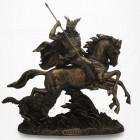 Mythologie - Odin à Cheval - Dieu de la Guerre