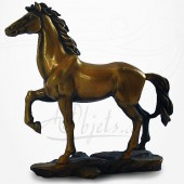 Cheval Bronze qui Parade