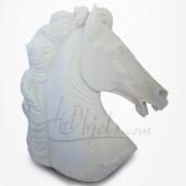 Cheval - Tête de cheval en Albâtre