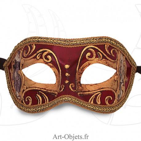 Masque de Venise - Civette Commedia Dell' Arte - Masque Loup