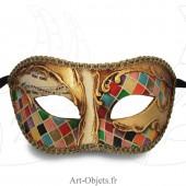 Masque de Venise - Civette à  mosaïque - Masque Loup