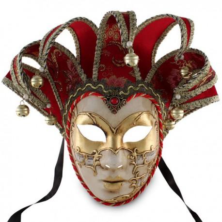 Masque de Venise - Visage Joker - 7 Pointes