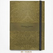 Carnet - Christian Lacroix - Paseo - Gold