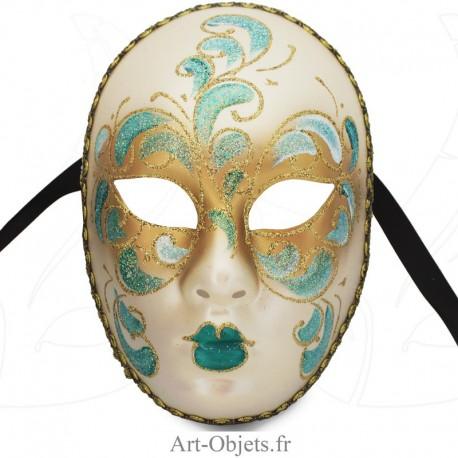 Masque de Venise - Visage décoré