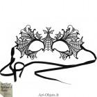 Masque Loup de Venise en Métal - Civette - Gothique