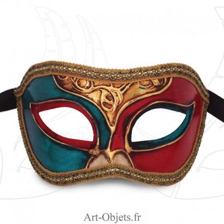 Masque de Venise - Civette Décoré - Masque Loup