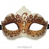 Masque de Venise - Civette Iris Princesse Enfant- Masque Loup