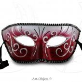 Masque de Venise - Civette Décorée - Masque Loup