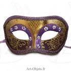 Masque de Venise - Civette Luxe Violet - Masque Loup