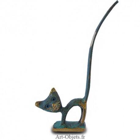 Chat  Baguier - Bronze Bleu