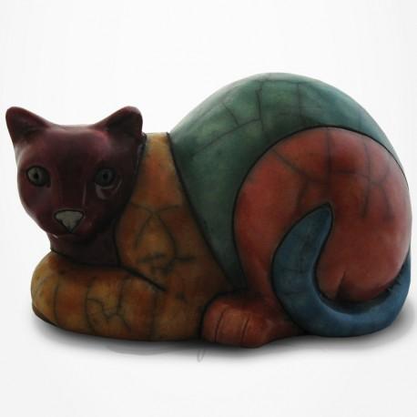 Chat Siamois - Raku - Moyen Modèle