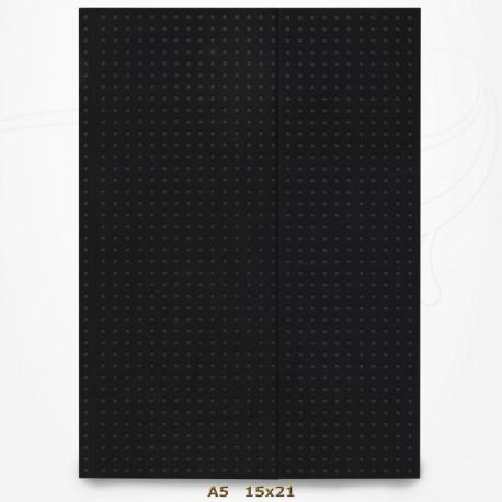 Carnet Paper-Oh - Circulo Noir sur Gris