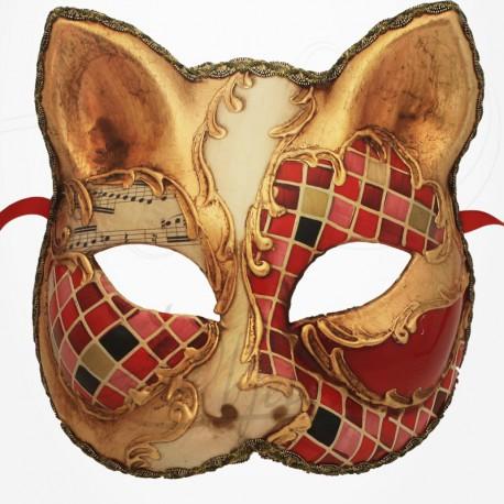 Masque de Venise - Masque Chat Mosaïque