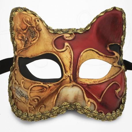 Masque de Venise - Masque Chat Baby Rouge