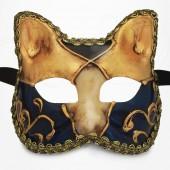 Masque de Venise - Masque Chat Baby Doré