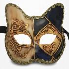 Masque de Venise - Masque Chat Baby Bleu