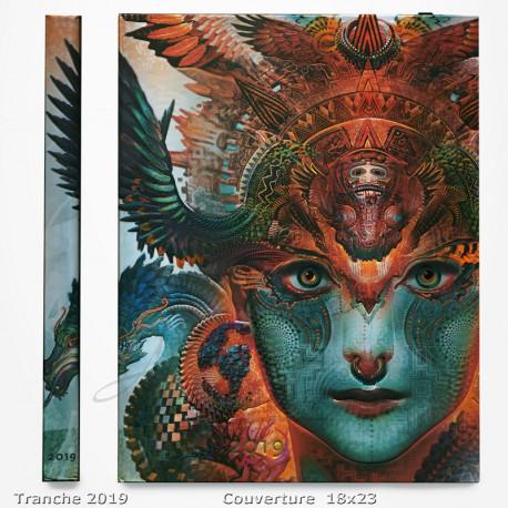 Agenda 2019 - Dharma Dragon 18x23 - Une Semaine sur Deux Pages