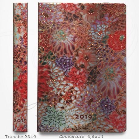 Agenda 2019 - Kikka 9,5x14 - Une Semaine sur deux Pages